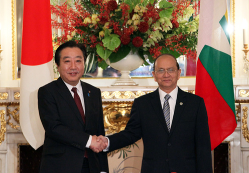 Japan to Resume Financial Aid for Myanmar