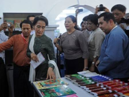 MYANMAR OPENS FIRST MOBILE LIBRARY