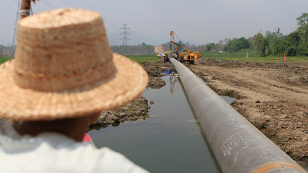 Myanmar-China gas pipeline starts to deliver gas to China (Xinhua)