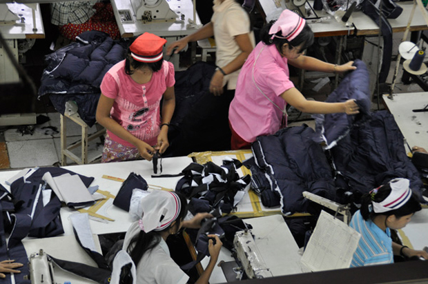 Hong Kong and China to invest in Myanmar's garment industry