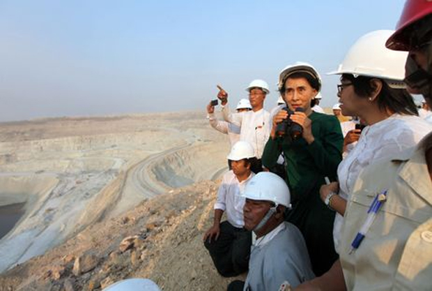 Myanmar to get more profit from Chinese-backed mine