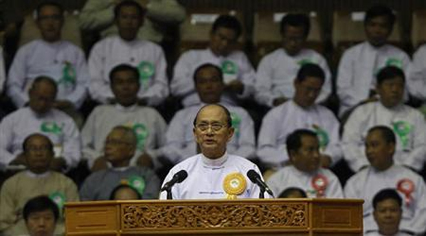 MYANMAR'S PRESIDENT WANTS EX-GOVERNOR BACK TO HEAD CENTRAL BANK