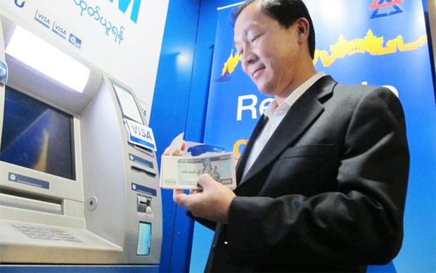 VISA BANKS ON MYANMAR