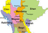Discover the twenty-one administrative subdivisions of Myanmar - Invest Myanmar.biz