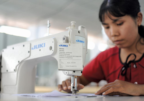 Garment industry body sees bright future, with growth outside Yangon