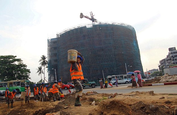 MYANMAR CONFRONTS TOWERING PROBLEM OF OFFICE SPACE SHORTAGE