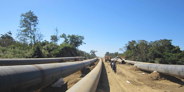 CHINESE GAS-PIPELINES� LAND COMPENSATIONS TO BE HANDLED BY SEAGP