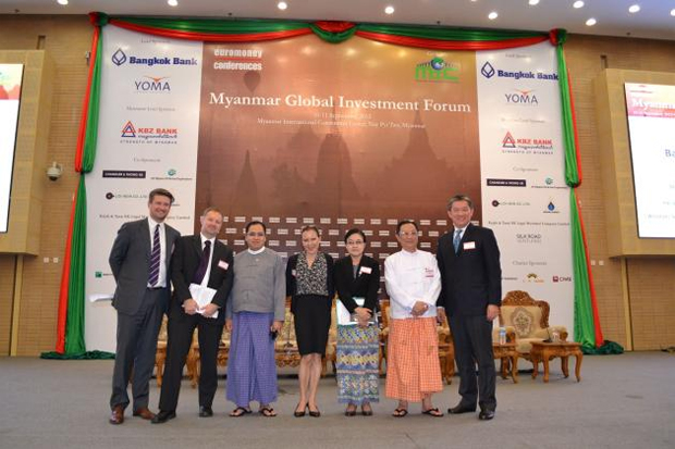 MYANMAR TO INVESTORS: MORE REFORM AHEAD