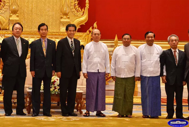 MYANMAR, JAPAN TO COOPERATE IN WIDE RANGE OF AREAS